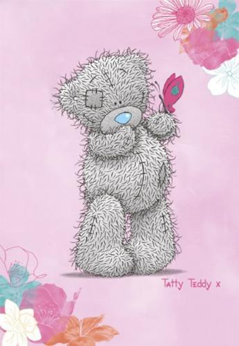 """Детский плед флисовый """"Тэдди с цветком"""" (Disney) 150х200"""