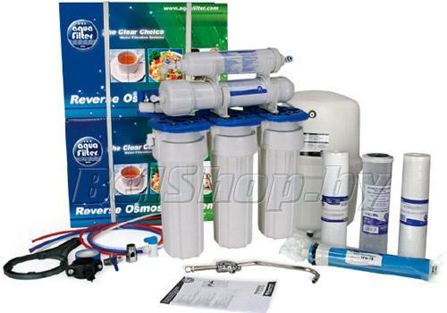 Пятиступенчатая питьевая система обратного осмоса Aquafilter RX54115XXX (фильтры для очистки воды АкваФильтр)