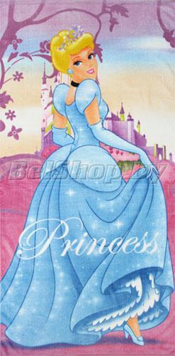 """Набор махровых полотенец """"Принцессы"""" Дисней (Disney) 70х140 и 35х70"""