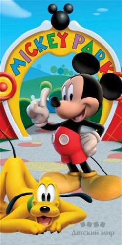 """Набор махровых полотенец """"Микки Маус"""" Дисней (Disney) 70х140 и 35х70"""