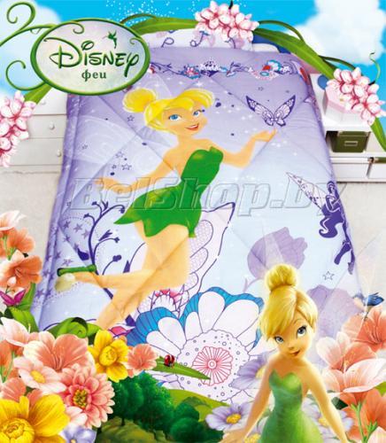 """Одеяло детское полутороспальное зимнее """"Феи"""" Дисней (Disney, садик)"""