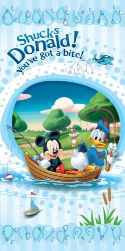 """Детское махровое полотенце """"Микки Маус"""" Дисней (Disney) 70х140"""