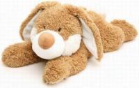 Игрушка-грелка СВЧ Кролик рыжий (Intelex, Cozy Plush)