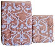 Полотенце бамбуковое Vine бордо 50x90 Мона Лиза Премиум 528677