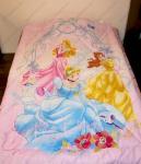 """Одеяло детское полутороспальное зимнее """"Принцессы в арке"""" Дисней (Disney, садик)"""