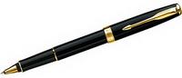 Ручка капиллярная (роллер) Parker Laque Deep Black GT, арт S0808720